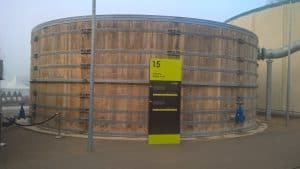 Simpelveld-houten watertank